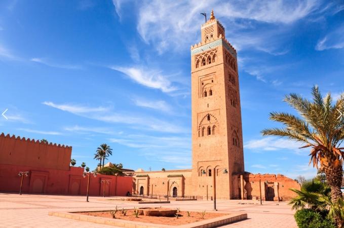 Marrakech_Marruecos_Mapa Tours