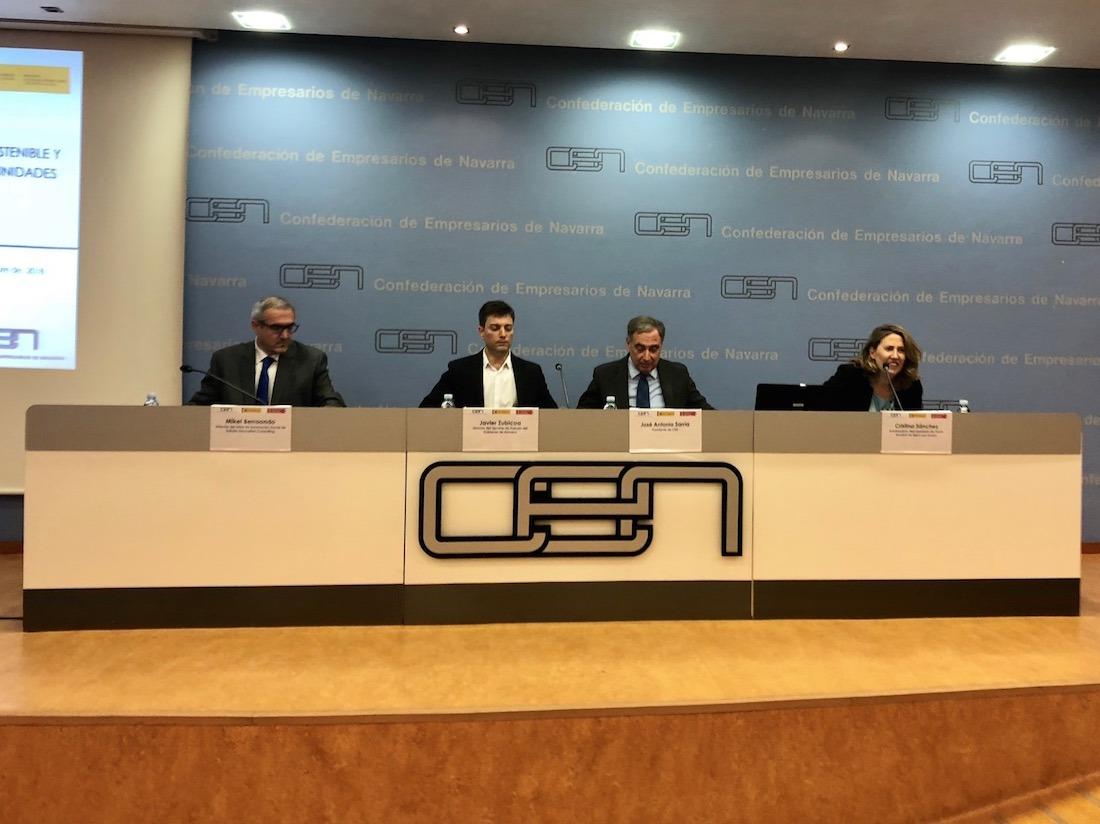 Mikel Berraondo, Javier Zubicoa, José Antonio Sarría y Cristina García.