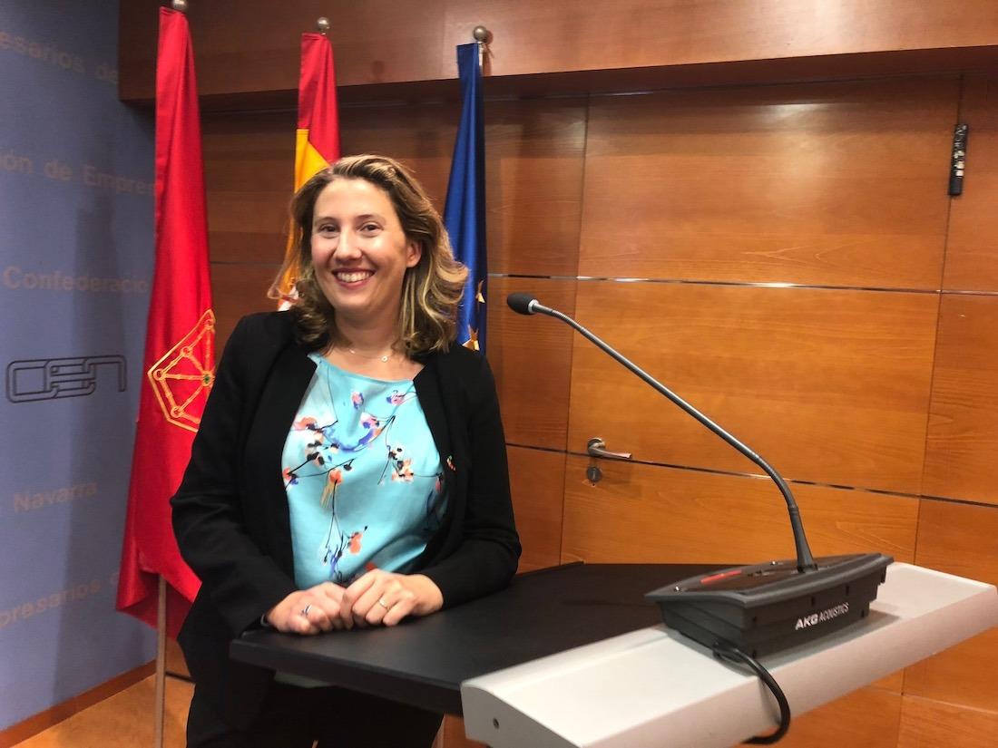 Cristina Sánchez, subdirectora de la Red Española del Pacto Mundial de Naciones Unidas.