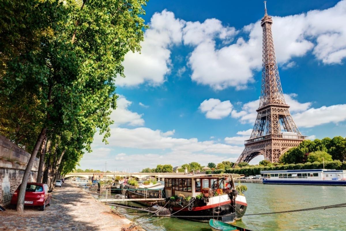 Paris es uno de los destinos favoritos para estos próximos días de 'puenting'.