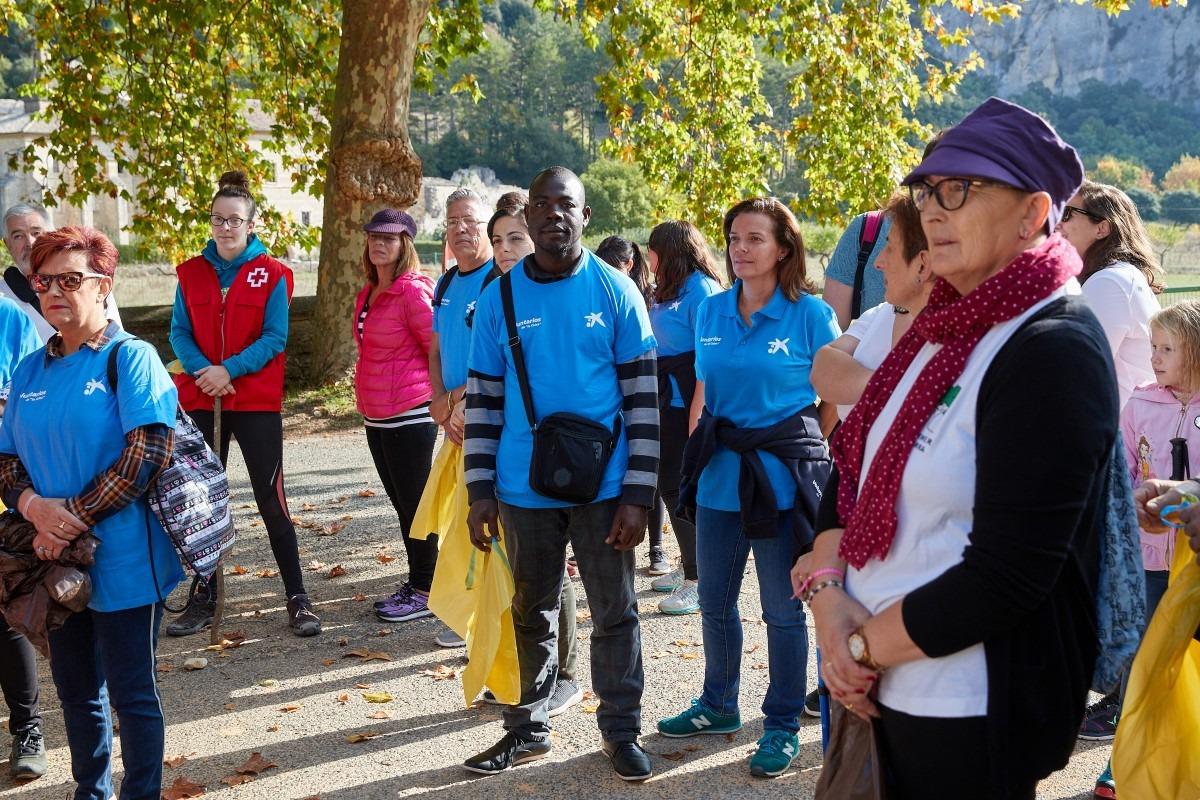 Voluntarios-CaixaBank-Irantzu