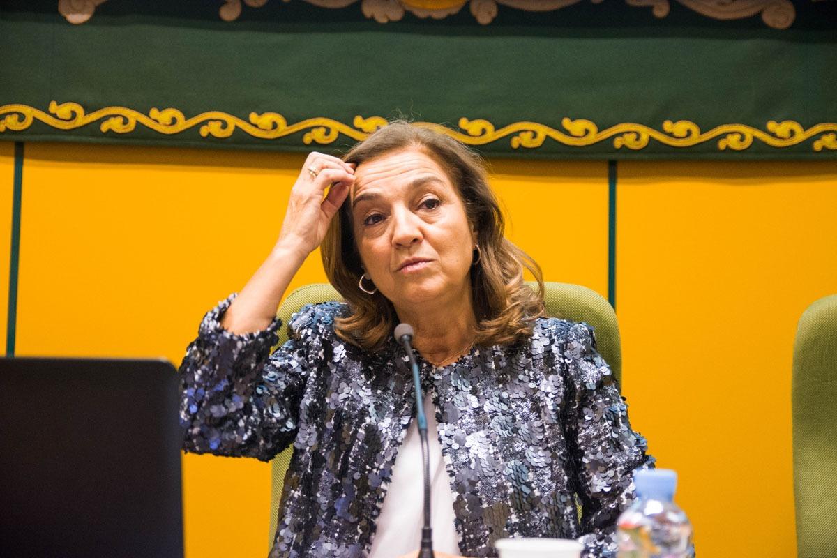 Carmen Vela fue secretaria de Estado de Investigación, Desarrollo e Innovación entre 2012 y 2018.