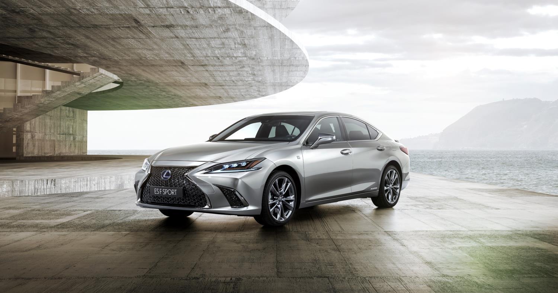 Imagen promocional del nuevo Lexus ES 300h