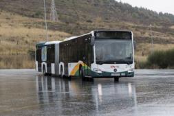 Pamplona incorpora 12 villavesas híbridas desde junio.
