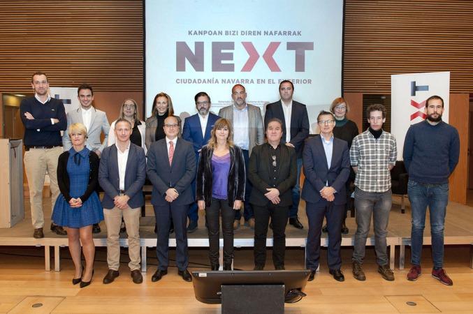 Foto de grupo con los participantes en el I Encuentro Next.