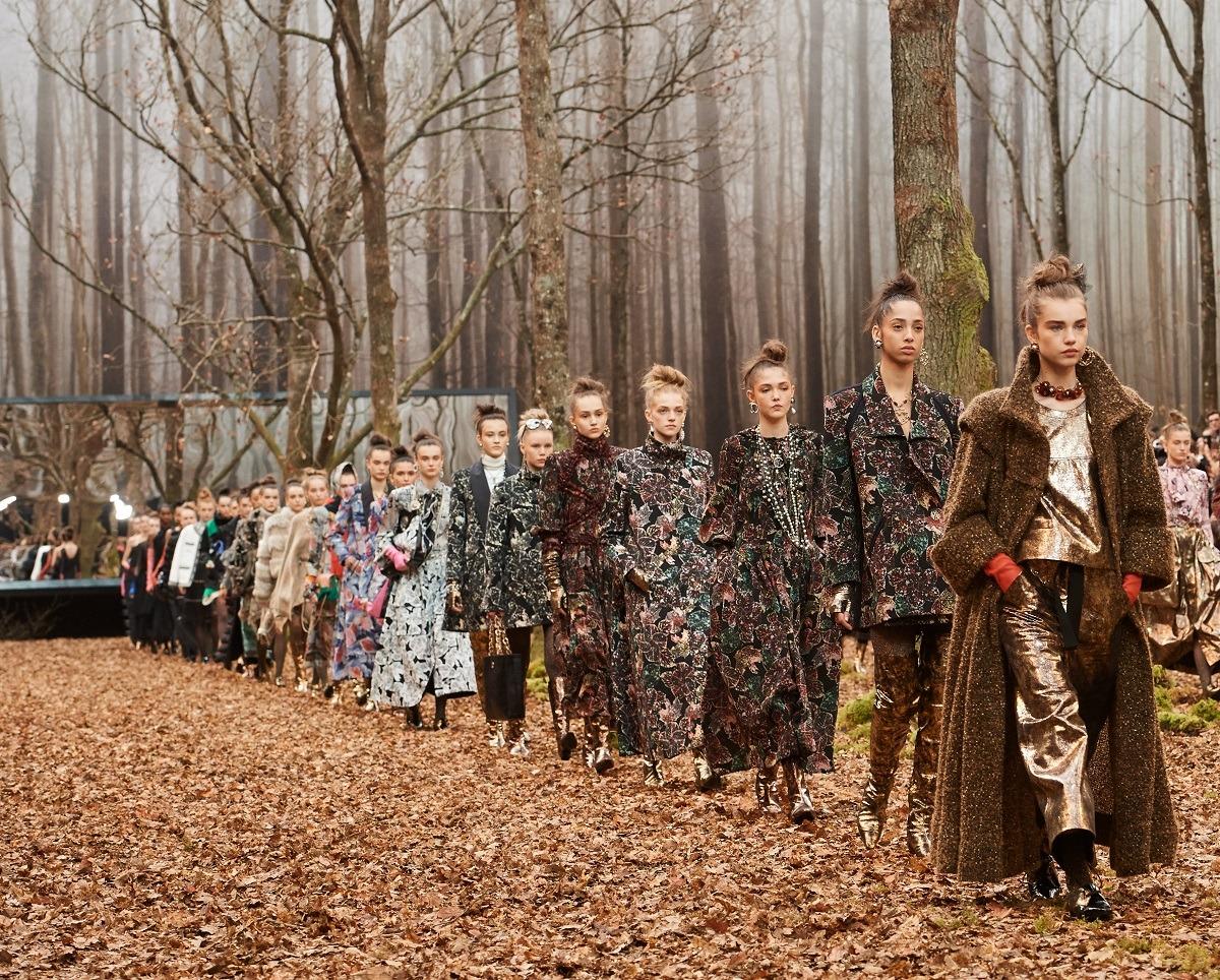 Desfile de presentación de la colección otoño invierno 2018/2019 de Chanel. (Foto: Olivier Saillant)