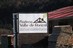Una de las empresas instaladas en el polígono industrial de Burgui.