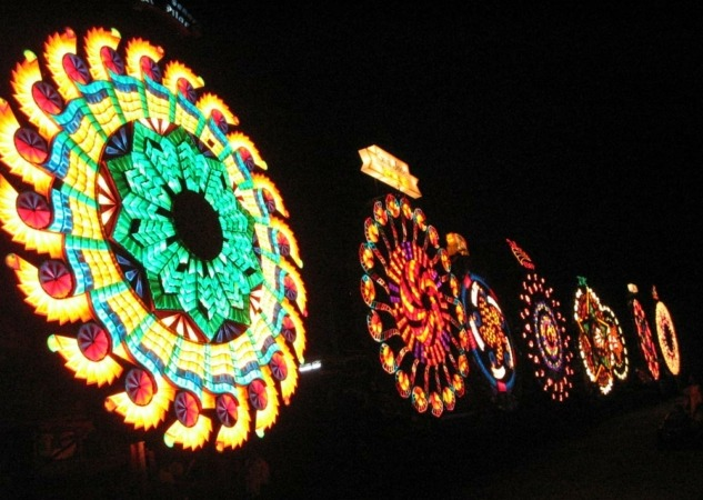 Festival de las lámparas gigantes de Filipinas. (Foto: Ivan Henares Anthony)