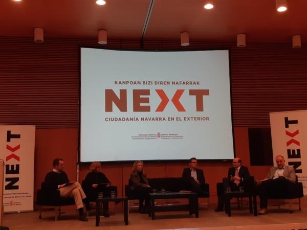Imagen de una de las Mesas con Expertos que hoy ha acogido el encuentro NEXT celebrado en Baluarte.
