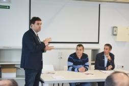 Jornada para trabajar en la capacitación y desarrollo de personas y empresas de la zona de Estella.