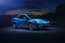 Imagen promocional del Toyota Prius Hybrid