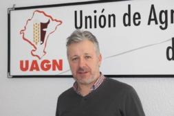 Félix Bariain, presidente de la Unión de Agricultores y Ganaderos de Navarra.