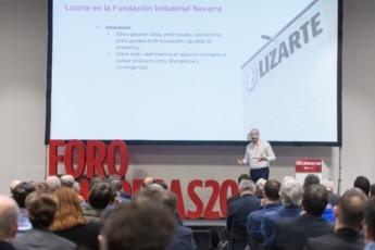 Diferentes empresas, como Lizarte, explicaron su experiencia en la Fundación Industrial Navarra