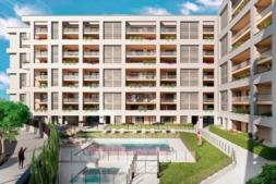 Imagen del aspecto qe presentará el proyecto Residencial Sierranova.
