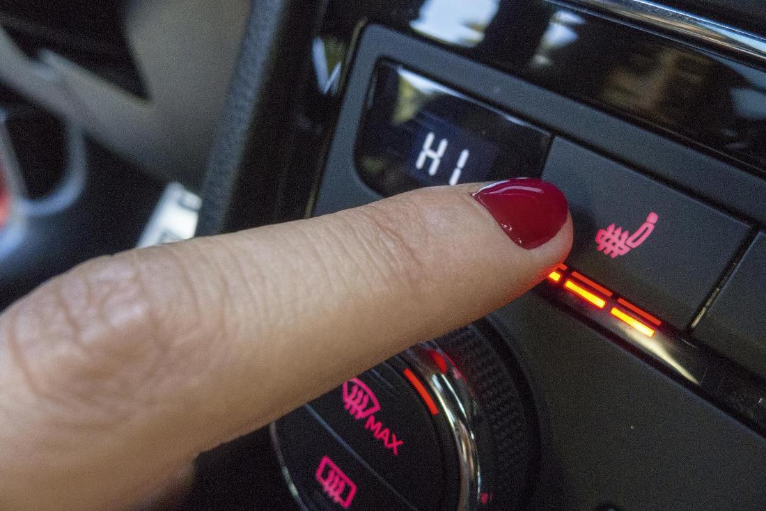 coche invierno calefaccion