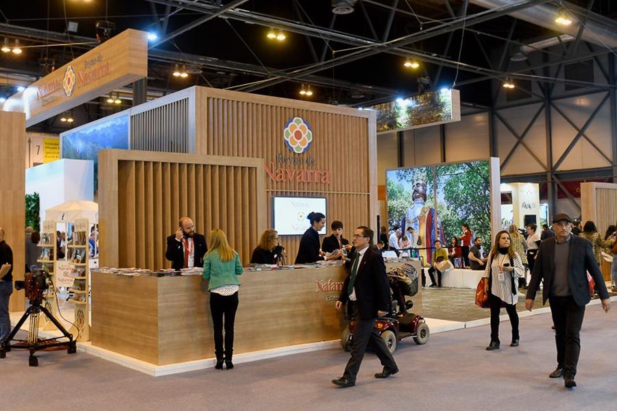 La gastronomía protagoniza la propuesta de Navarra en FITUR 2019. (Fotos: Felipe Pérez)