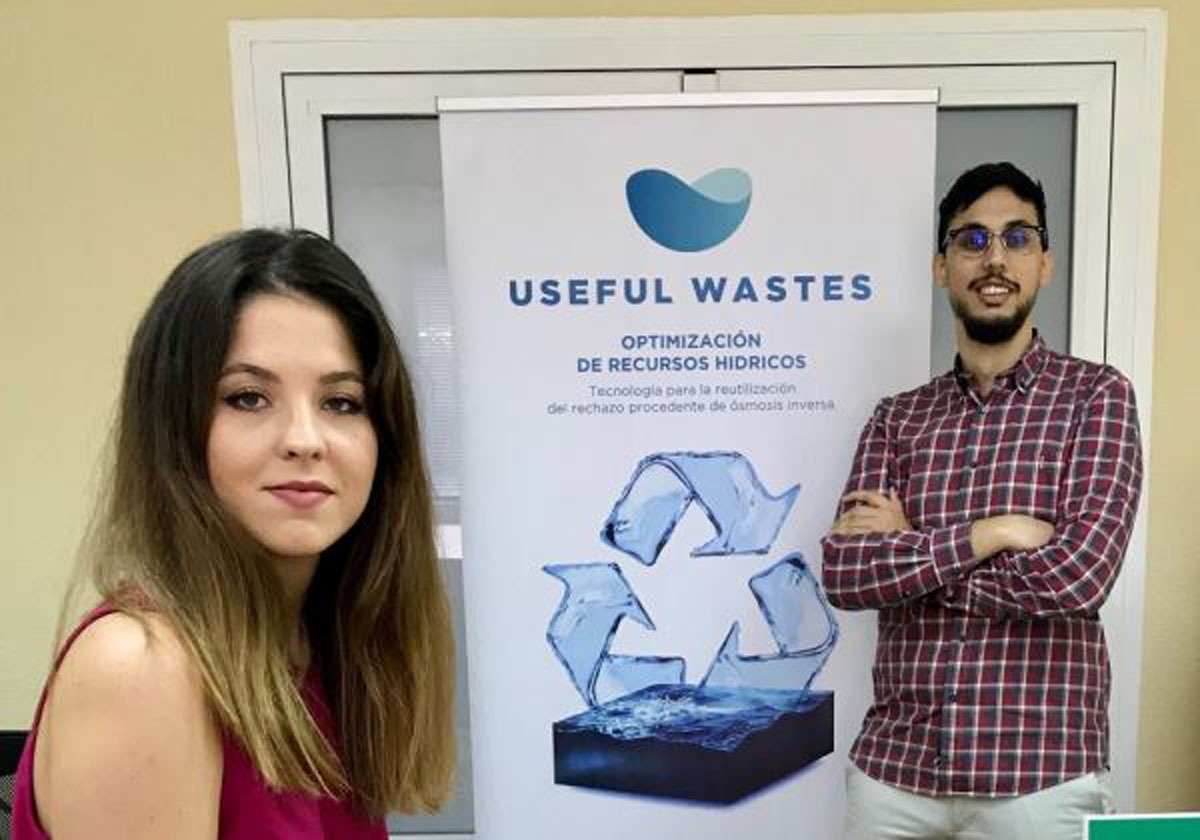 Cristina Varona y Ricardo Martínez, promotores de Useful Wastes.