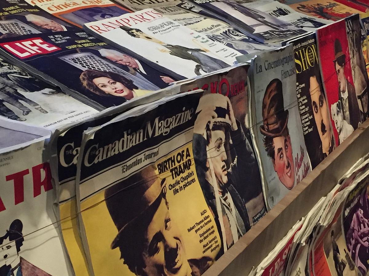 Condé Nast ocupa los quioscos de todo el mundo con sus revistas.