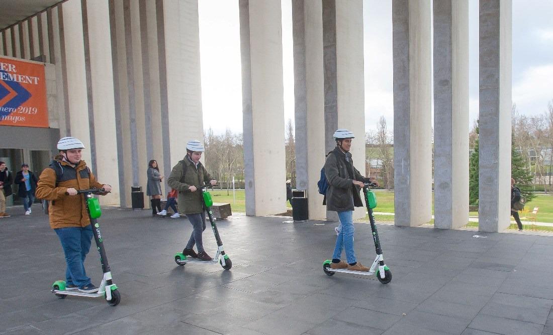 patinetes eléctricos universidad navarra