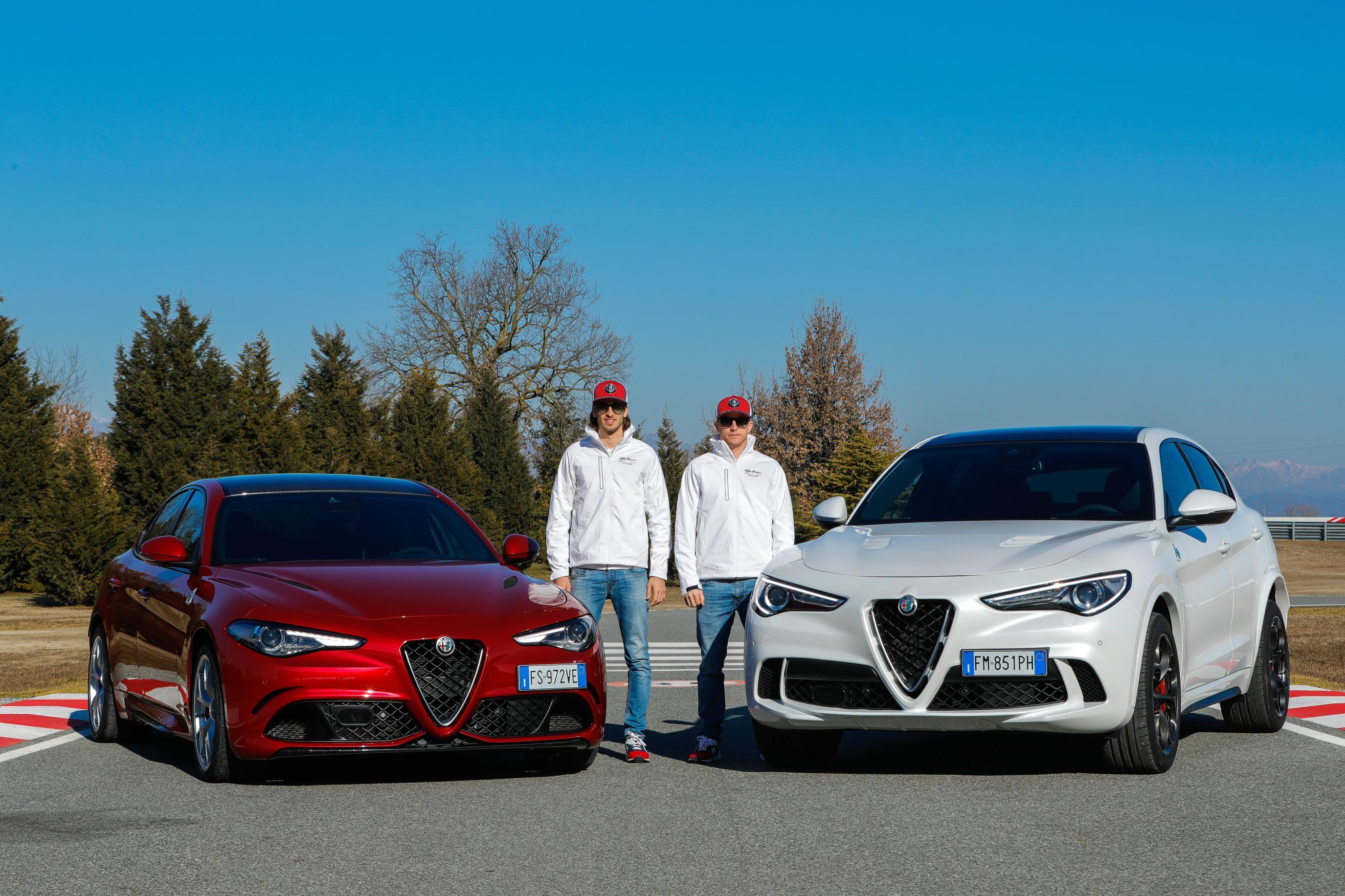 Alfa Romeo Stelvio, el preferido de los pilotos de F1.