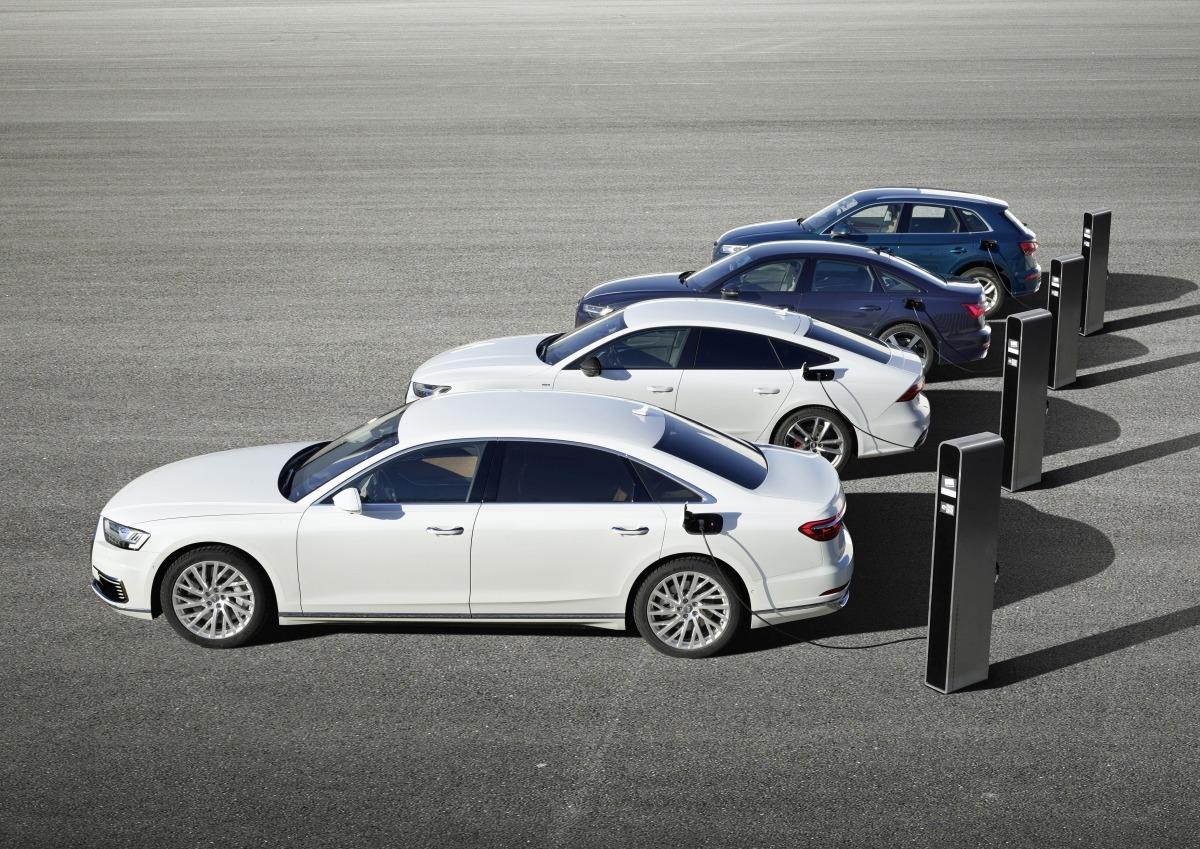 Audi Q5, A6, A7 y A8