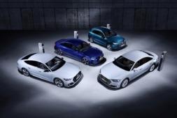 Audi Q5, A6, A7 y A8 híbridos.