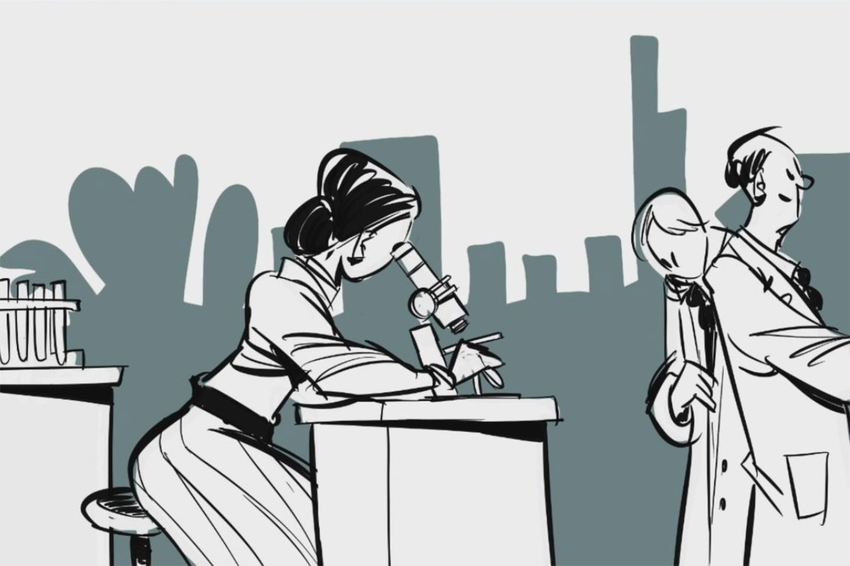 Fotograma del vídeo producido por el Museo de Ciencias Universidad de Navarra.