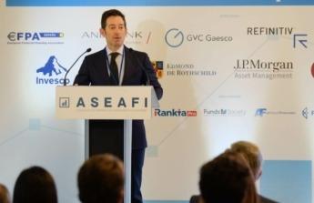 El presidente de ASEAFI, Carlos García Ciriza.
