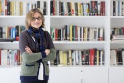 Isabel González, directora de la Fundación Core, entidad a la que irán destinados los beneficios del concierto solidario. (FOTOS: Ana Osés)