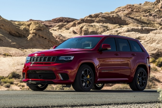 Jeep Grand Cherokee Track Hawk
