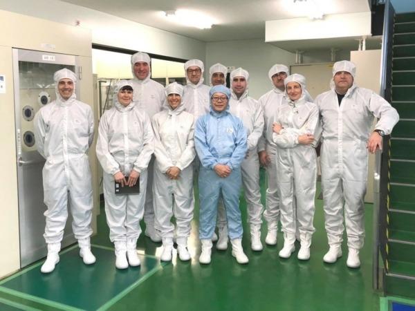 La misión de Functional Print a Japón, en los laboratorios de alto rendimiento del Open Innovation HUB (OIH) de Asada Mesh. (Fotos cedidas)