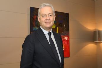 Simon Manley, fotografiado en la sede de Cámara Navarra.