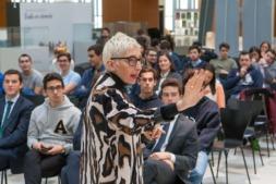 Isabel Fernández, managing director en Accenture Analytics, durante su charla.