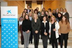Empresarias y directivas ayudan a mujeres con dificultades de acceso al mercado de trabajo en Pamplona.