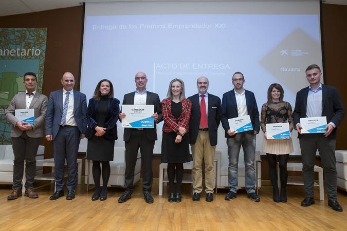 A* Jesús Garzaron F* 2019_02_12 T* Premios Emprendedor XXI, DayOne Innovation Summit Navarra L* Planetario de Pamplona