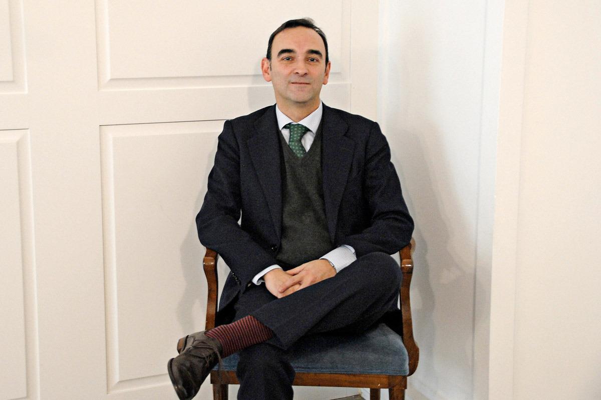 Santiago Sala, fotografiado en el Hotel Tres Reyes momentos antes de recibir el Premio Empresario del Año.