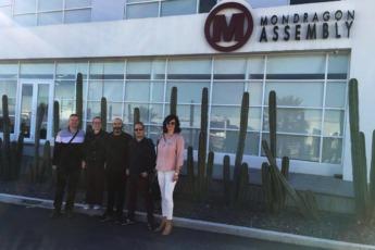 Durante su viaje aprovecharon para visitar las seder de Mondragón Assembly y Kirchhoff Automotive.