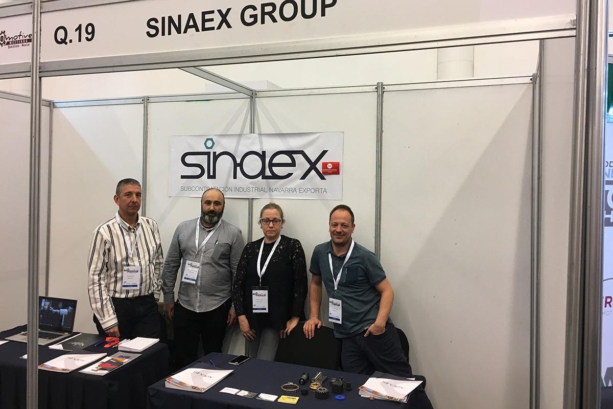 El Grupo Sinaex tuvo varias reuniones en su 'stand'.