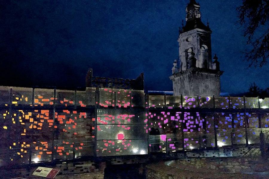 Creación de Ezequiel Nobili para Umbra Light Festival.