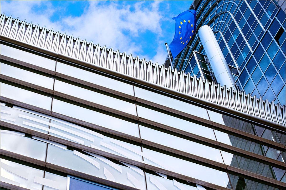 Imagen de la sede del Parlamento Europeo en Bruselas.