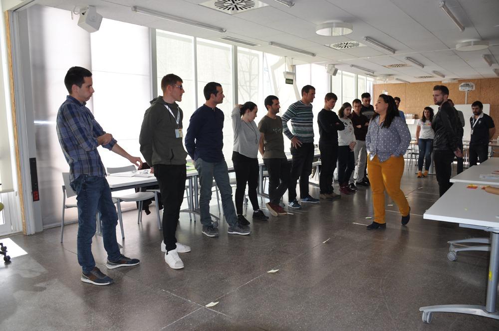 Participantes en el II Campus Jóvenes Cooperativistas.