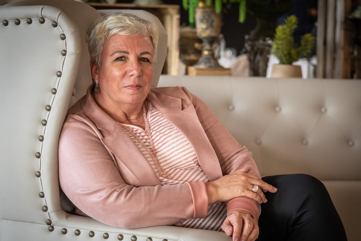 Dori López, directora general de Cultura. (Fotos: Eduardo Sanz)