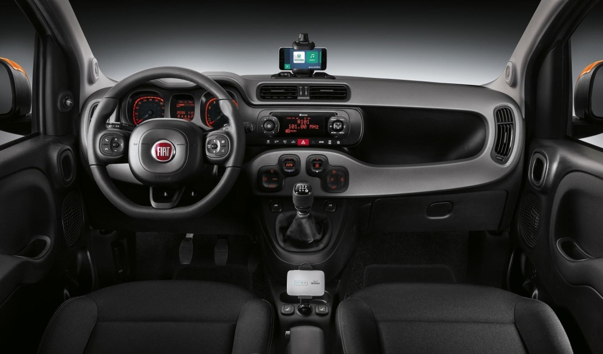 Fiat Panda Connected.