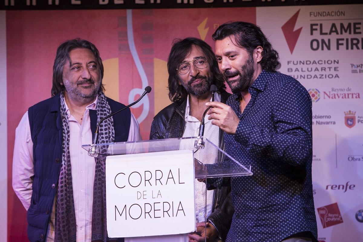 Juan, Antonio y Josemi Carmona se unirán de nuevo en Pamplona en la sexta edición de Flamenco On Fire.