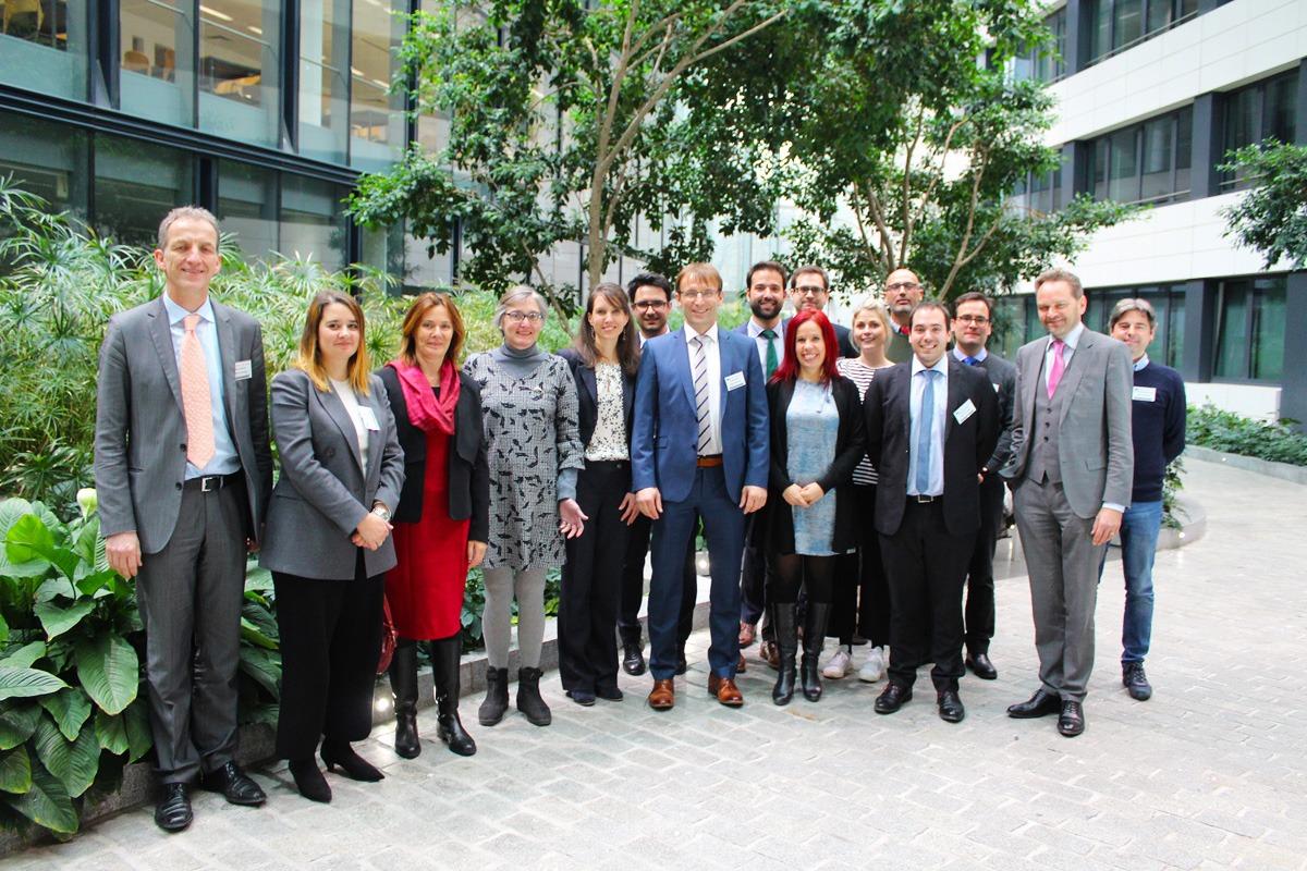Al comienzo oficial del período contractual, el nuevo consorcio del European IP Helpdesk se reunió en Bruselas con representantes de la Comisión Europea y de la EASME para celebrar una primera reunión sobre el proyecto . (© European IP Helpdesk 2019)
