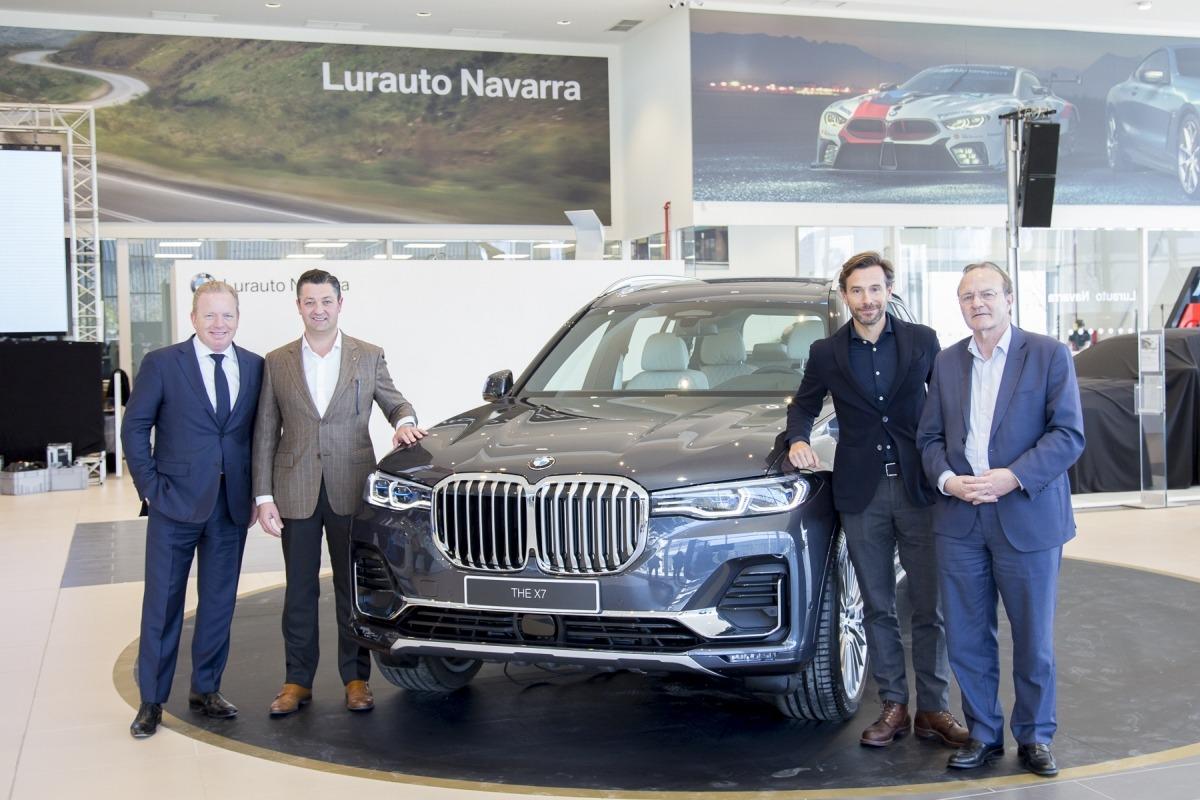 El BMW X7 en la inauguración de Lurauto (Foto: Ana Osés).