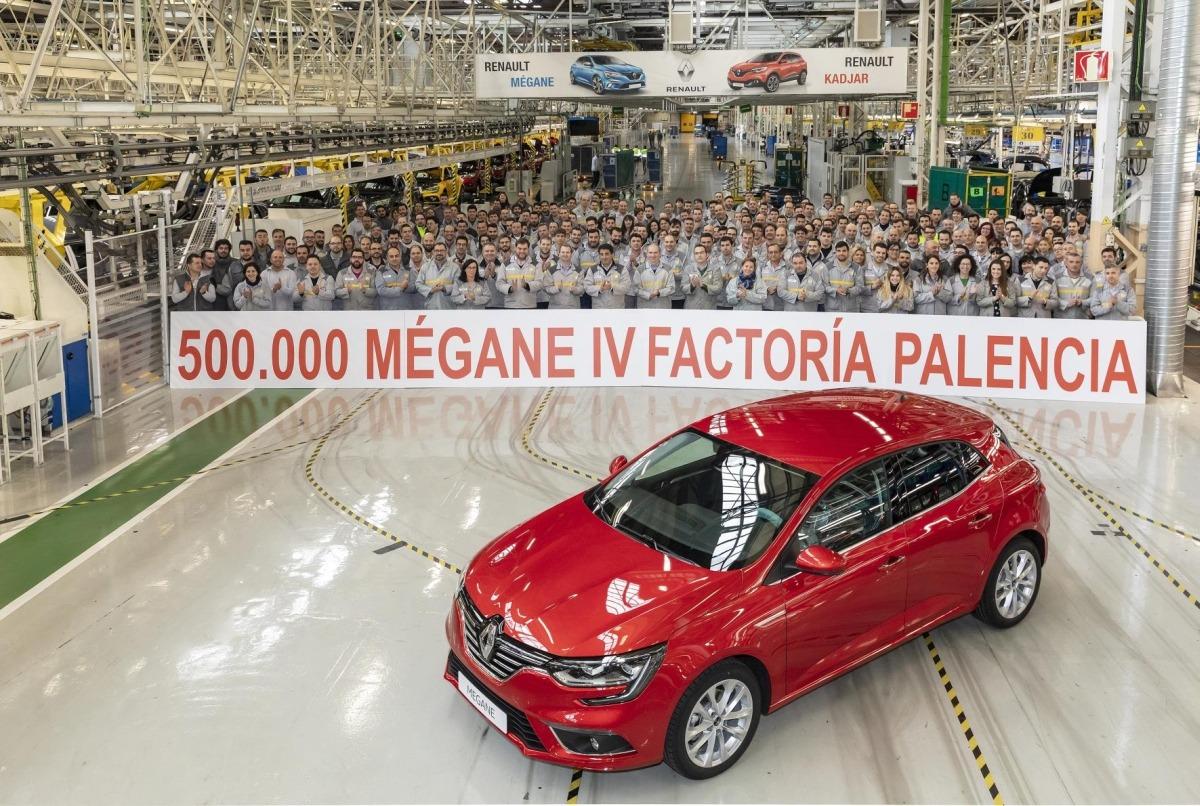 Renault fabrica 500.000 Mégane en tres años.