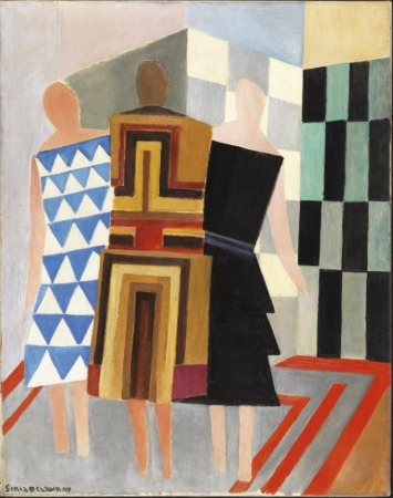 Vestidos simultáneos, de Sonia Delaunay, 1925