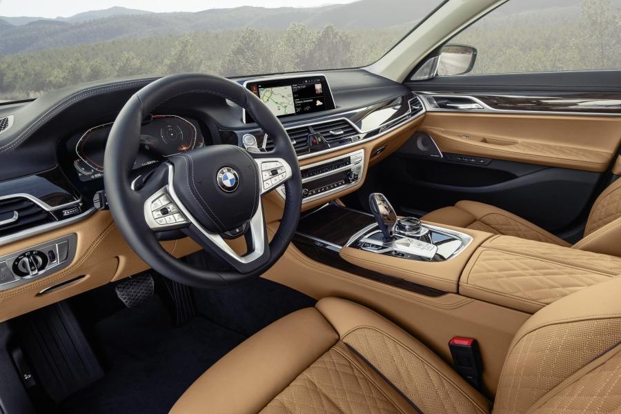 Interior del BMW Serie 7.
