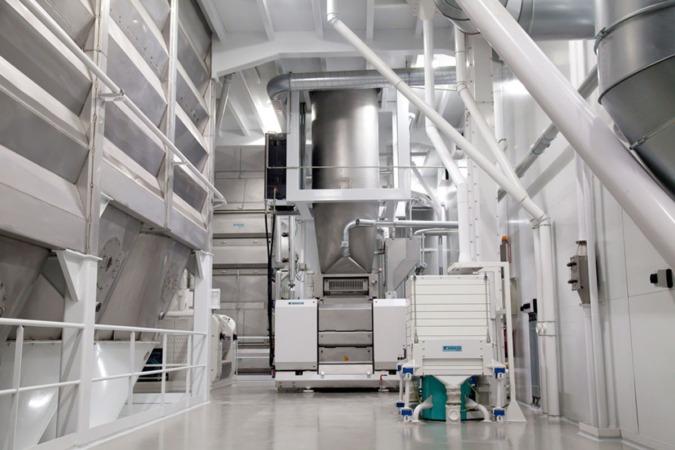 Interior de la planta que Harivenasa tiene en el polígono de Noain-Salinas.
